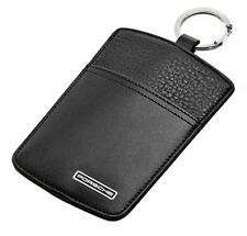 New Genuine Porsche Leather Sport Classic Key Wallet Pouch Idea Present In Box