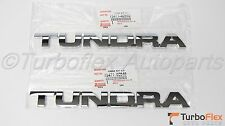 Toyota Tundra 2007-2013 Genuine Front Door Emblem Set of 2  75471-0C040