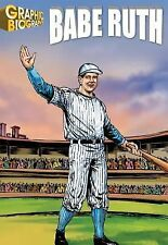 Babe Ruth, Graphic Biography (Saddleback Graphic: Biographies)-ExLibrary