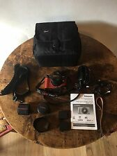 Panasonic LUMIX DMC-GF1 Black Kit w/ 14-45mm and 20mm Lens and more