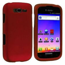Red Samsung Galaxy S Blaze 4G SGH-T769 Faceplate Phone Cover Hard Case Skin