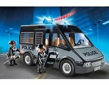 Playmobil 6043 City Action Police Van Lights And Sounds Play Set Car