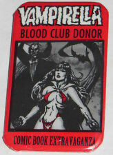 VAMPIRELLA-BLOOD DRIVE EXCLUSIVE BUTTON-DRACULA-GONZALO MAYO-1997-SCARCE