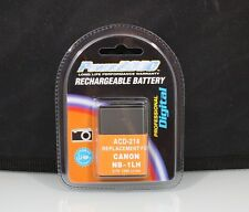 184402 RECHARGEABLE NB-1LH REPLACEMENT BATTERY FOR CANON NEW
