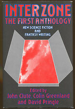 Interzone: The First Anthology-1st US Ed.-Publisher Review Copy-Ballard, Shirley