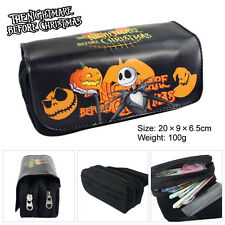 Nightmare Before Christmas Pencil Pen Case Cosmetic Make Up Bag Storage Pouch