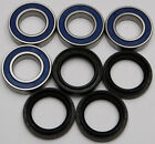 Yamaha Grizzly 660 2002 02 Rear Axle Wheel Bearings And Seal Kit 25-1409