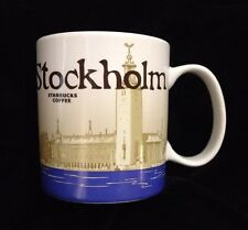 Starbucks Stockholm Mug City Hall Nobel Sweden Kungsholmen Eldkvarn Icon US Ship