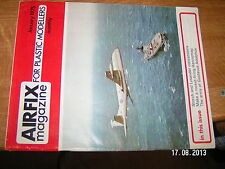 £!£ Airfix Magazine For Plastic Modellers January 1975 Gustavus Adolphus Storch