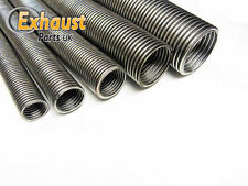 "2.5"" 63.5mm x 1 meter Universal Flexible Stainless Steel Flexi Tube Exhaust Pipe"