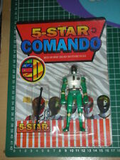 80's Power ranger kamen raider vintage  Green figure MISB r:57