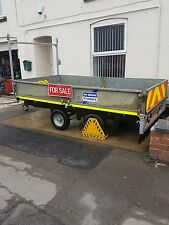 ifor williams lt 105 10 x 5 plant trailer