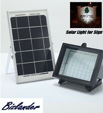 Bizlander® Bright 5W 60LED Solar Flood Light Security Light Solar Panel for Sign