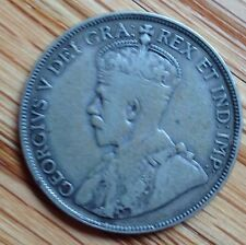 1934 Canada Silver Half Dollar 50 Cent Piece Coin Candian Fifty