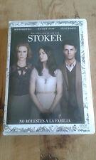 Como nuevo DVD película  STOKER - NO MOLESTES A LA FAMILIA - Item For Collectors
