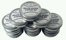 12 - Major League Baseball Coffee Energy Dip MLB Chewing Tobacco Free Caffeine