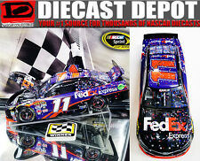 DENNY HAMLIN 2016 DAYTONA 500 WIN RACED VERSION FEDEX EXPRESS 1/24 ACTION