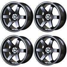 4 x Bola B1 Gunmetal Grey Alloy Wheels - 17x7.5 | 4x108 | ET45