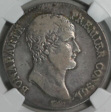 1803-I NGC VF 30 FRANCE Silver 5 Francs AN 12 Napoleon POP 1/0 Coin (16111609C)