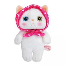 Choo Choo Cat Cute Soft Plush Stuffed Animals Doll Toy Pink Hood (S)