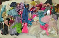 BARBIE Doll Fashions HUGE lot of 124 clothes Clothing dress gown top skirt pants