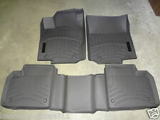 Genuine OEM Mercedes Benz M Class ML W166 Brown All Weather Floor Liners