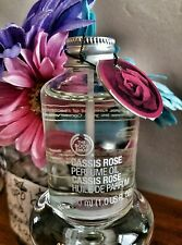 #Special Perfume Oil 30ml CASSIS ROSE The Body Shop  *NWT Full Size