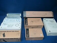 Pampered Chef Lot Slimline Scale Easy Accent Decorator Bread tubes
