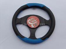 SKODA FABIA STEERING WHEEL COVER SWC P24 BLUE, MEDIUM