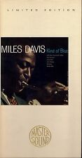 MILES DAVIS_KIND OF BLUE_24K GOLD_CD_AUDIOPHILE_20-BIT_SBM_CLAMSHELL LONGBOX_OOP
