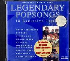AA.VV. (Turtles Status Quo Donovan...) LEGENDARY POPSONGS Vol.3 CD EXCELLENT