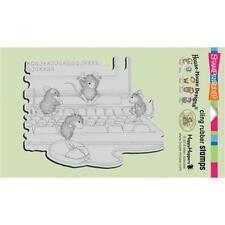 Stampendous House-Mouse Cling Stamp - Computer Mice HMCR52