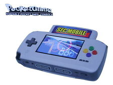 SNES NINTENDO PORTABLE CONSOLE HAMY SUPABOY WITH TWO CONTROLLERS