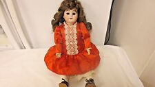 """1894 Mold German AM 5 DEP marked 17"""" Jointed Composition Doll-Bisque Socket Head"""
