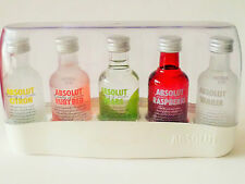 Limited Edition ! Brand New ! Absolut Vodka Collection Miniature Set (50mlx5)