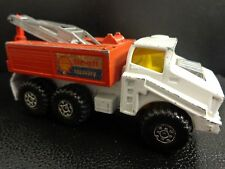 VINTAGE 1975 MATCHBOX BATTLE KING SHELL RECOVERY VEHICLE