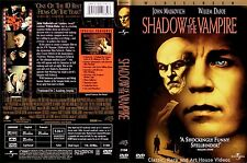 Shadow of the Vampire ~ LN DVD 2001 ~ Willem Dafoe, John Malkovich (2000)