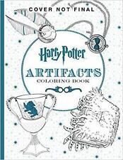 Harry Potter Artifacts Coloring Book (2016, Paperback)