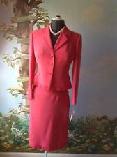 Kasper Petite Long Sleeve women's  Coral Skirt Suit Size 6P NWT