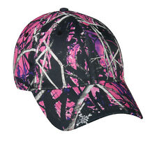 Outdoor Cap Ladies Muddy Girl Moon Shine Camo Adjustable Hat Hiking CGW-115M E2