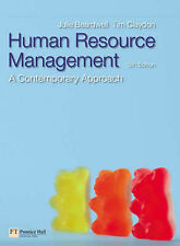 Human Resource Management: A Contemporary Approach: AND Managing in a...
