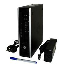 HP PC Elite 8200 USDT Mini PC Quad Core 4x 2,5 GHz 8GB RAM 320GB HDD Windows 7 P