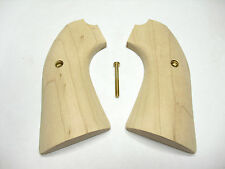 Unfinished Maple Ruger Bisley Vaquero Grips