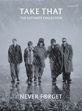Nunca olvides el Ultimate Collection Take That Pop Piano Guitarra Faber música Libro