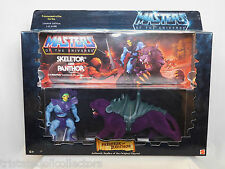 Rare MASTERS OF THE UNIVERSE SKELETOR & PANTHOR Limited 10,000 MOTU_29167_NRFB