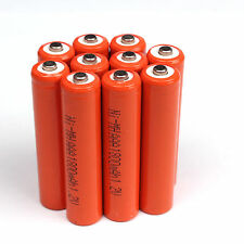 Lot of 10pcs AAA 3A 1.2V 1800mAh Ni-MH rechargeable battery for Solar Light MP3