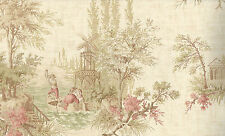 Fine Decor, Multicolour, Vintage Toile Wallpaper