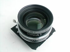 SYMMAR -S 240mm /f5.6 MC lens, Compur 3 shutter, Technika Panel (13 918 657)