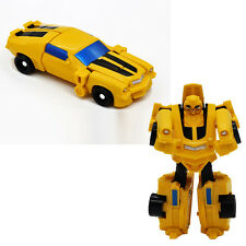 1Pcs MiniFigures Block Robots Toys Kids Educational Gift Yellow Car Model