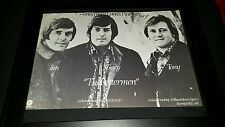 The Lettermen Seasons Greetings Rare Original Promo Poster Ad Framed!